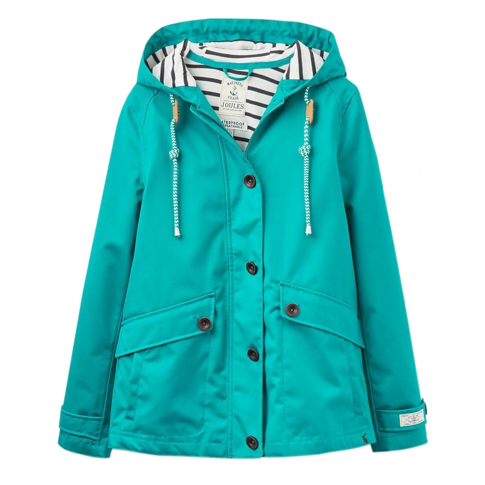 f4fde1044 Joules Coast Waterproof Hooded Ladies Jacket (W) - Womens from CHO Fashion  and Lifestyle UK