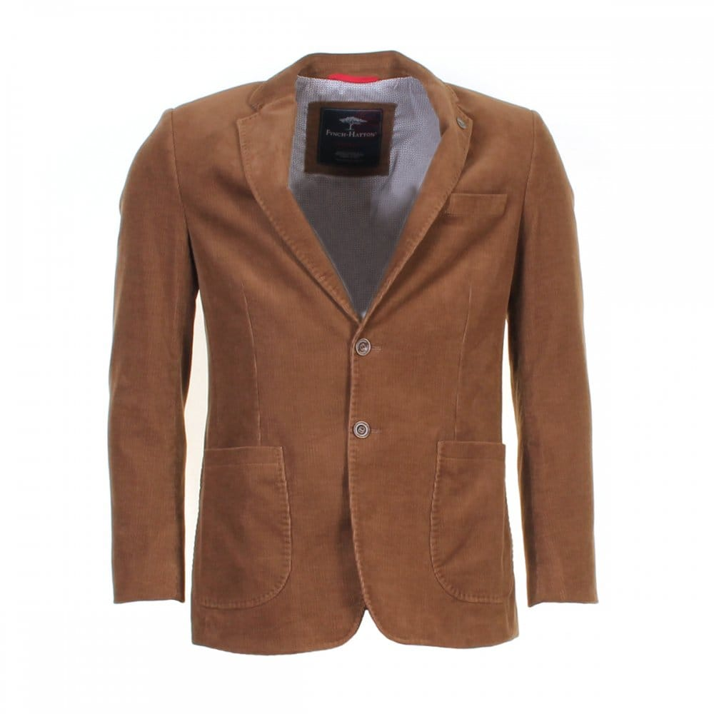 Fynch Hatton Corduroy Mens Blazer - Mens From CHO Fashion And Lifestyle UK