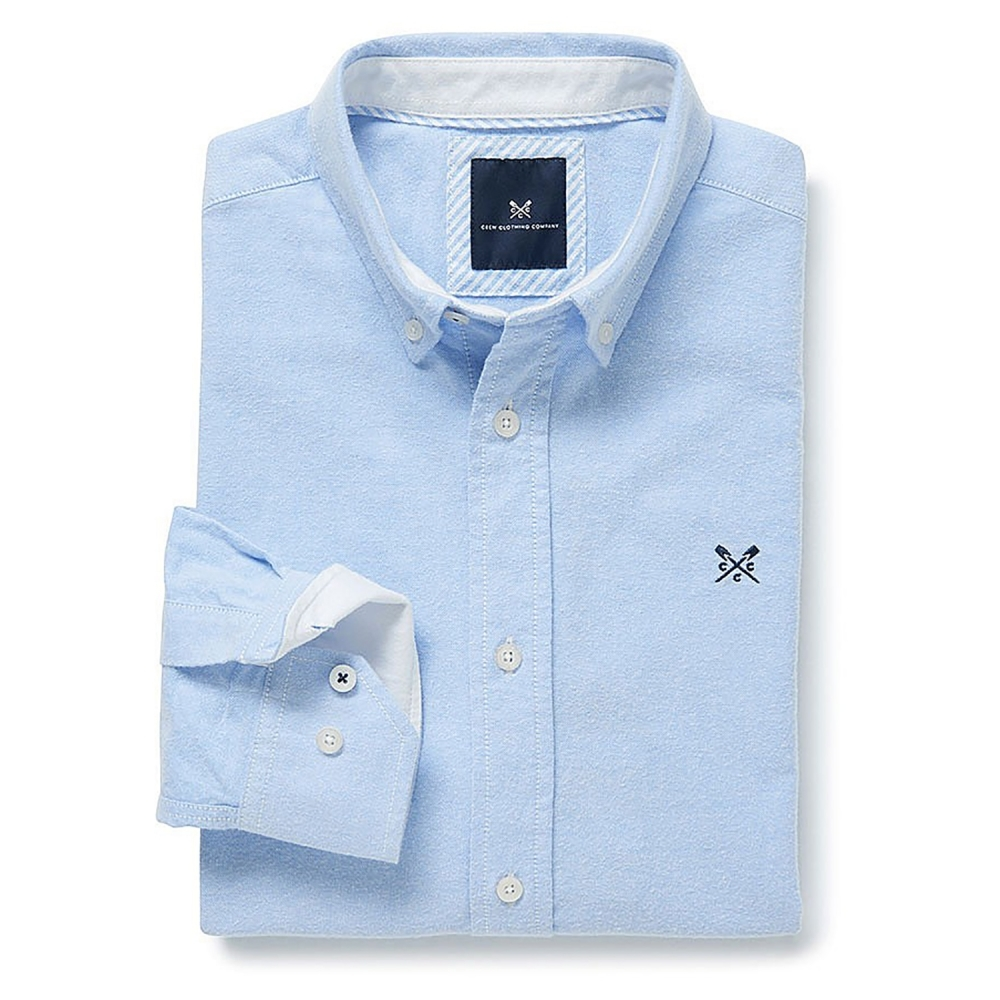 Crew Clothing Oxford Classic Mens Shirt Mens From Cho Fashion And