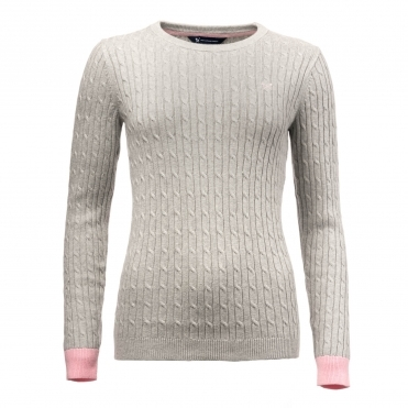 367d89330cc Crew Clothing Womens Heritage Cable Jumper WJD026