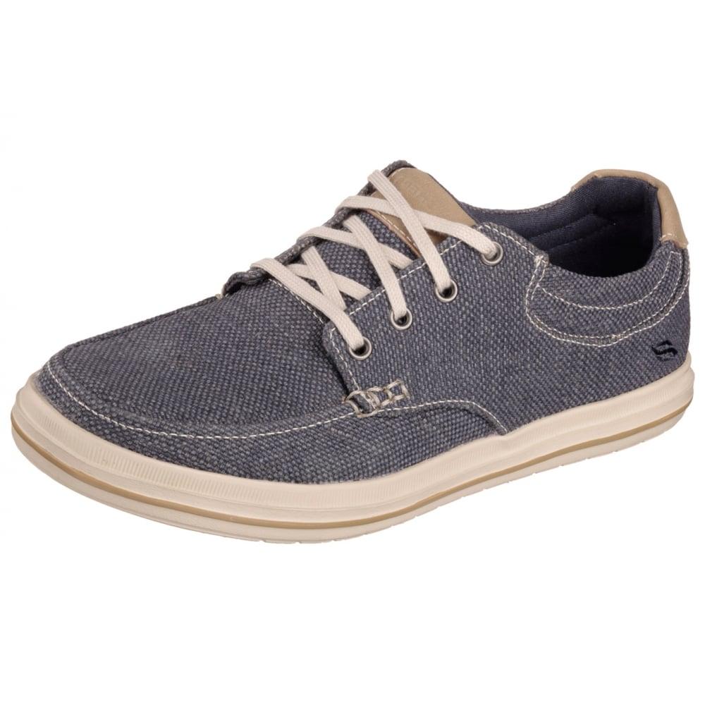 Skechers Define Soden Mens Canvas Shoe