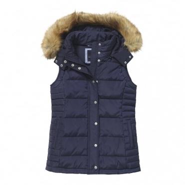 CREW CLOTHING CO. Womens Reversible Gilet Size 14 Medium ...