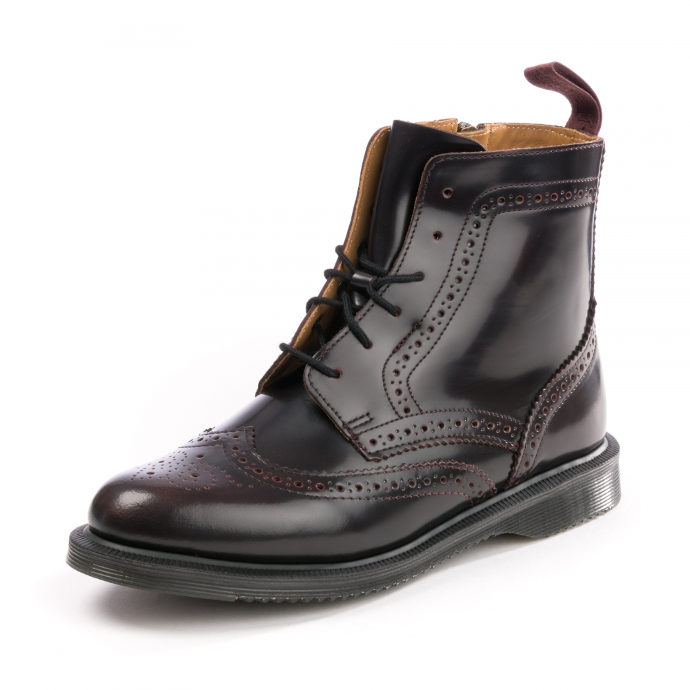 Dr Martens Delphine Arcadia 8-Eye Womens Brogue Boot - Womens from ... 4d858a920