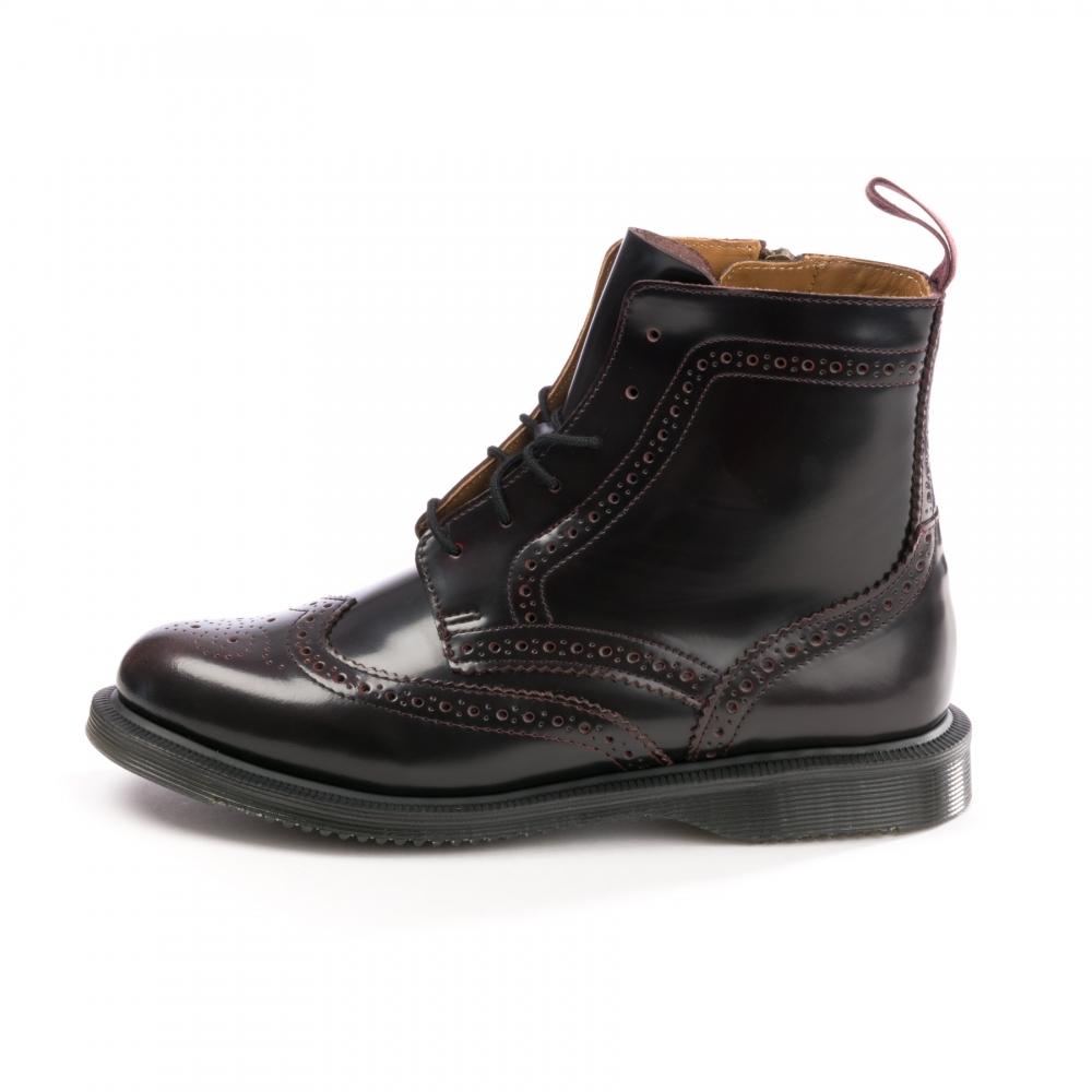 0815e8d5d42 Delphine Arcadia 8-Eye Womens Brogue Boot