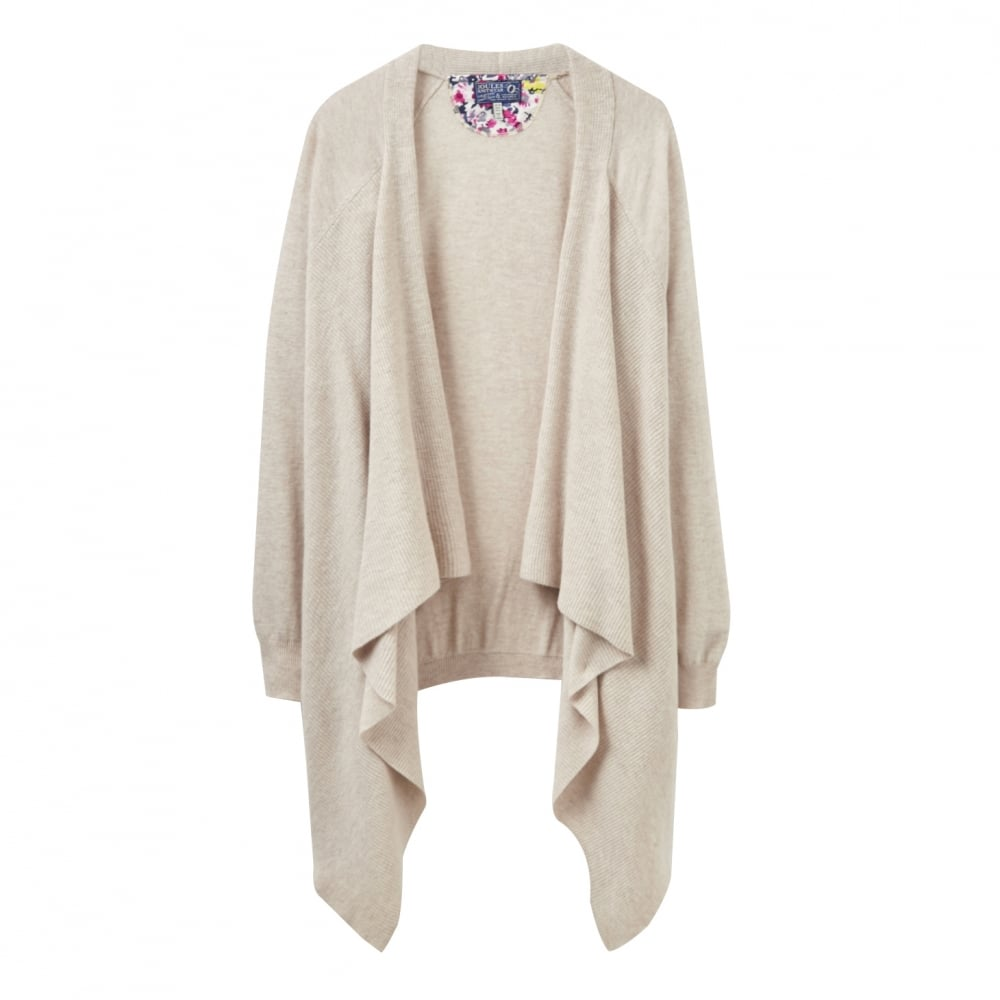 Joules Eriesta Longline Waterfall Ladies Cardigan (V) - Womens ...