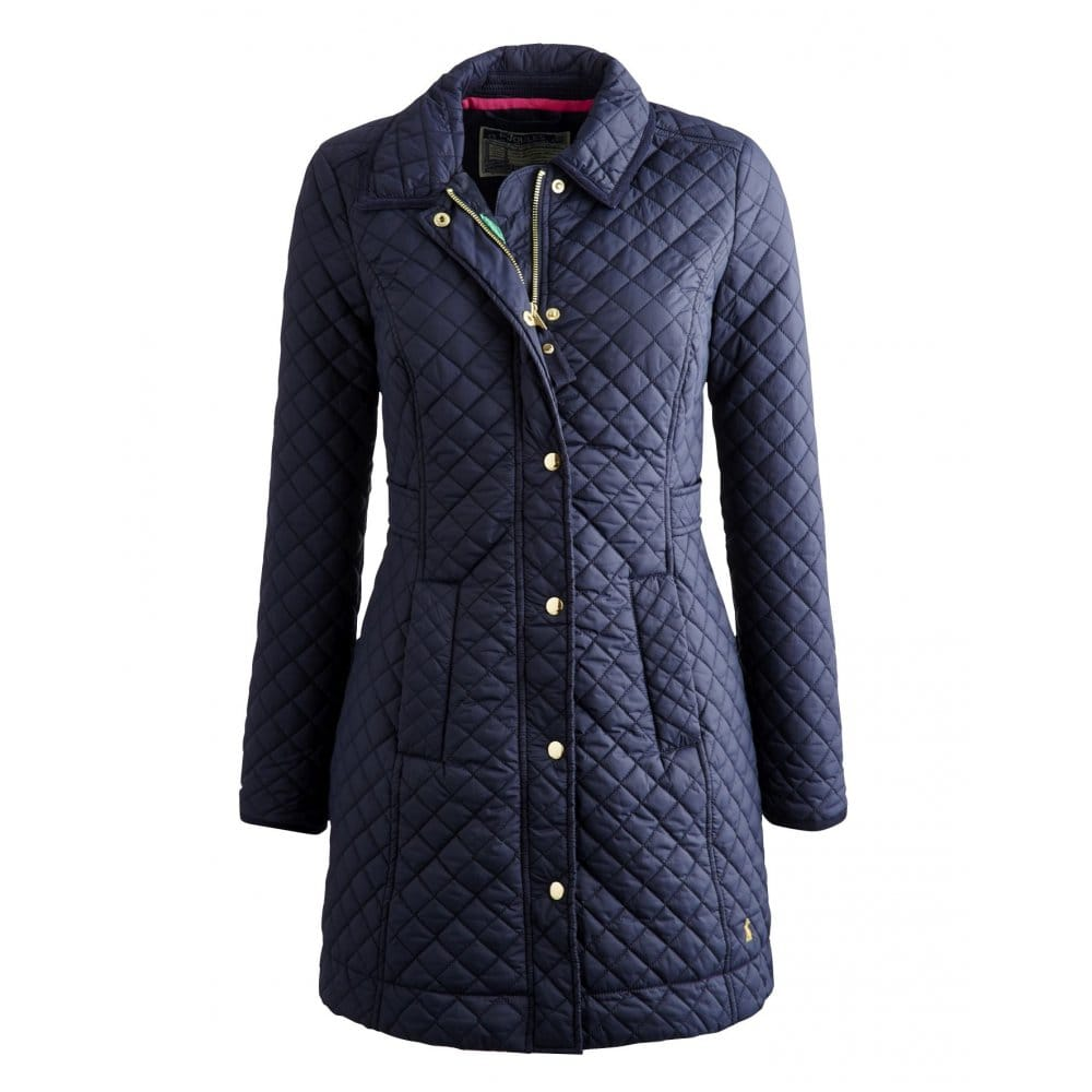 Joules Fairhurst Ladies Quilted Jacket (S) - Womens From CHO Fashion And Lifestyle UK