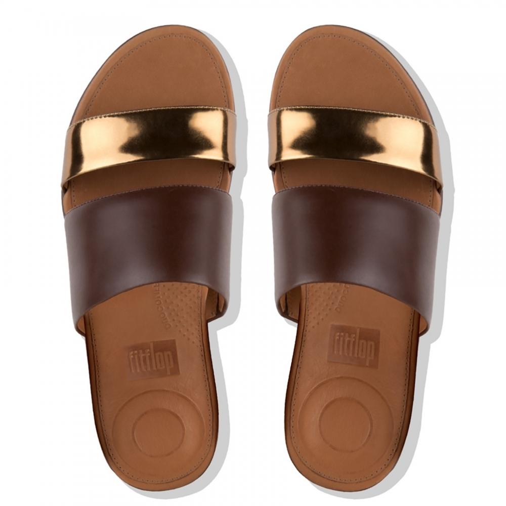 c5813c32ecc28 Fitflop fitflop Delta Slide Sandals Womens Slides - Womens from CHO ...