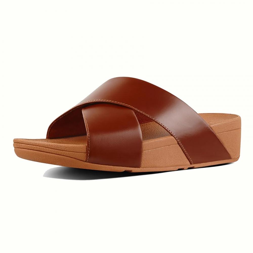 05ebefe22 Fitflop fitflop Lulu Cross Slide Sandals Womens Flipflop - Womens ...