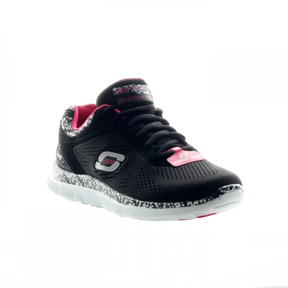 skechers flex appeal island style ladies shoe skechers. Black Bedroom Furniture Sets. Home Design Ideas