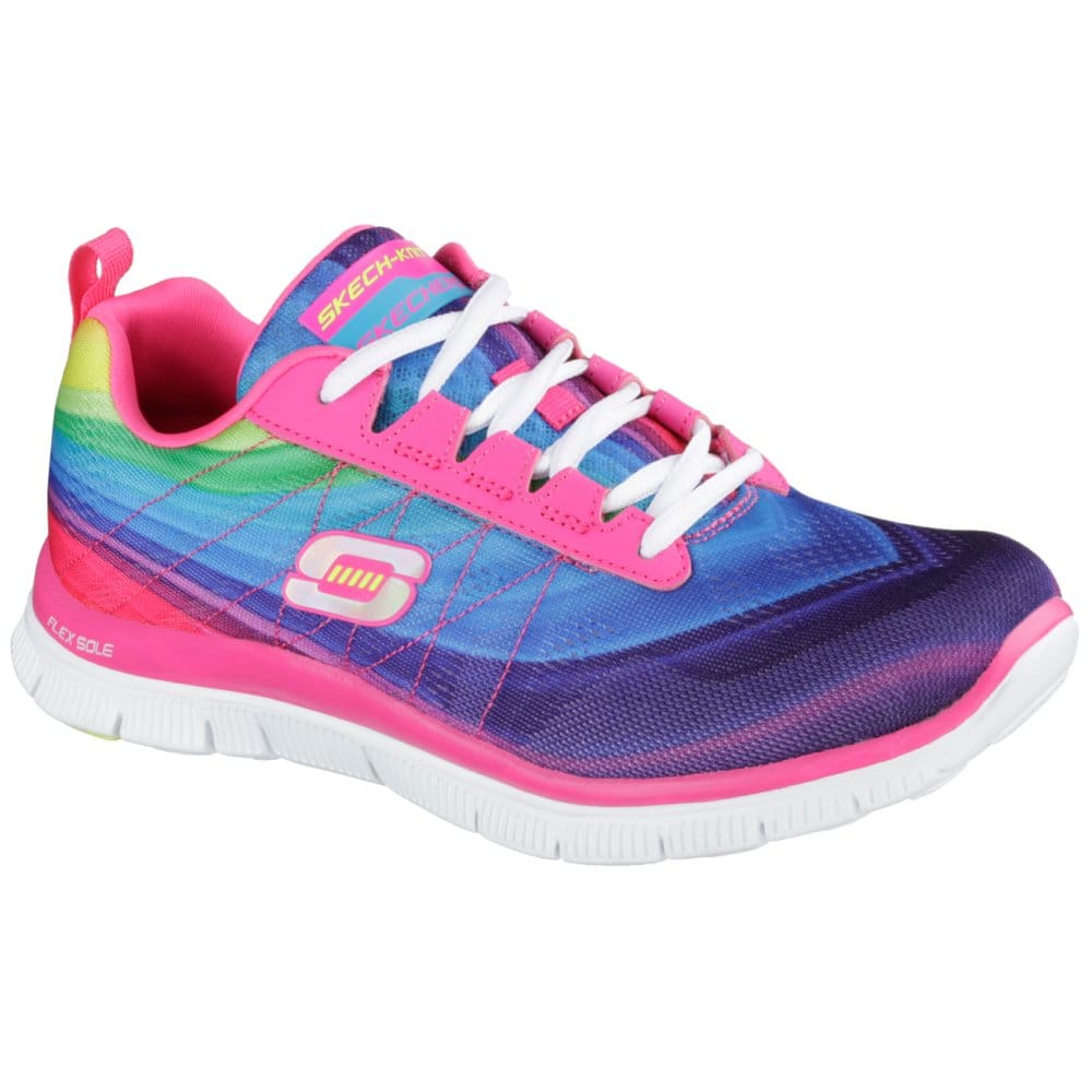 Mode Pink Skechers Flex Appeal Pretty Please Damen