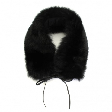 Fox Fur Ladies Ring Scarf