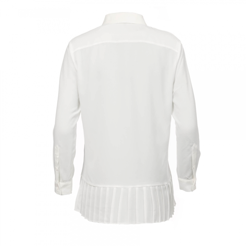 7f13db59595 French Connection Crepe Light Pleat Womens Shirt - Womens from CHO ...