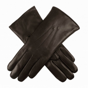 Fur Lined Leather Ladies Glove