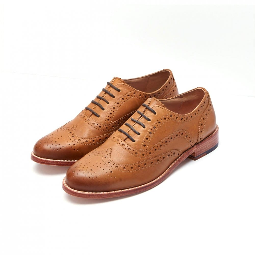 6c7c4507050 Gainsborough Ladies Leather Brogues (T)