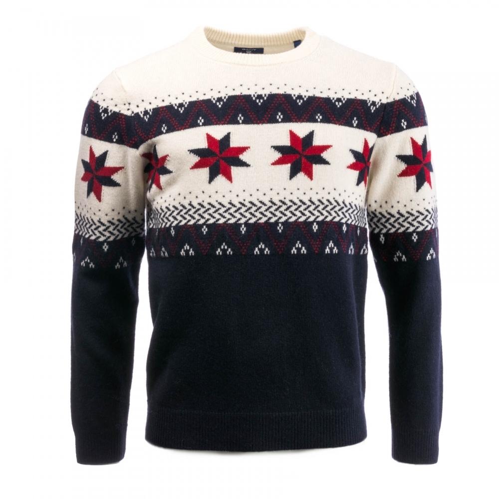 Fair Isle Christmas Sweater.Fairisle Christmas Mens Sweater Press18