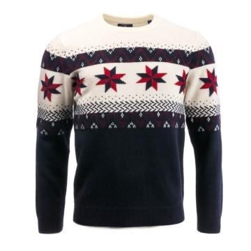 GANT Fairisle Christmas Mens Sweater PreSS18 - Mens from CHO ...