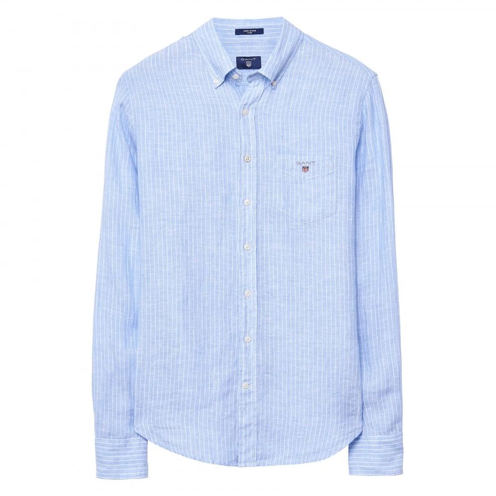 Gant The Linen Shirt Avec Mastercard Vente 2TbHJgM