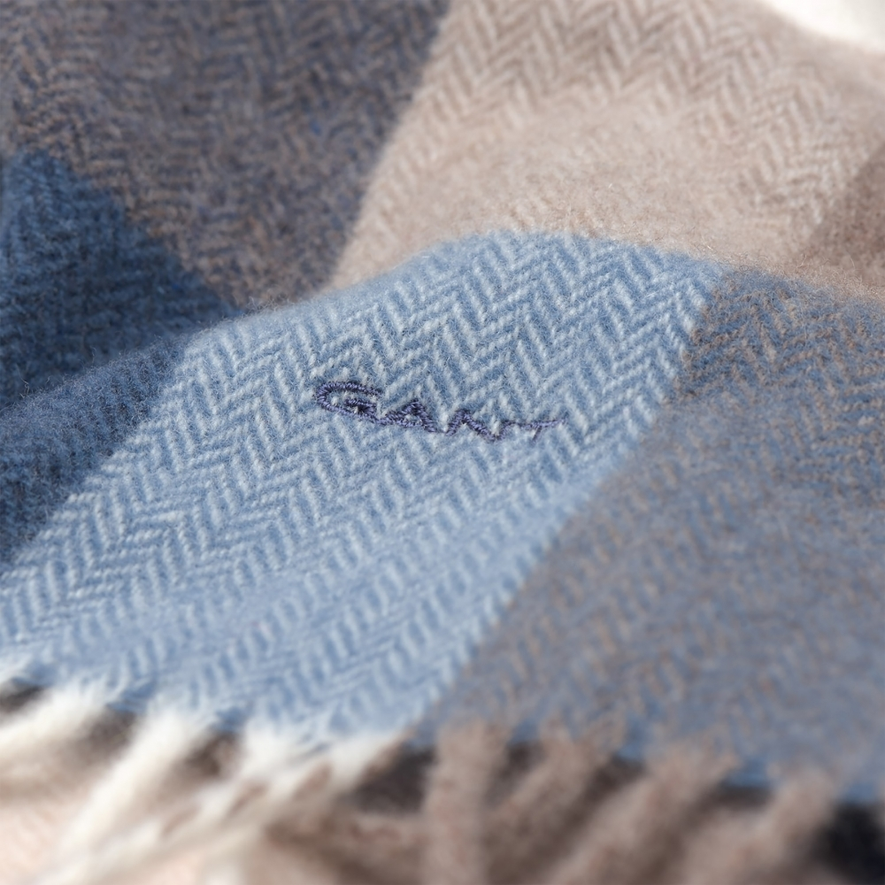 GANT Multicheck Lambswool Womens Scarf - Accessories from CHO ... cc099e6a130