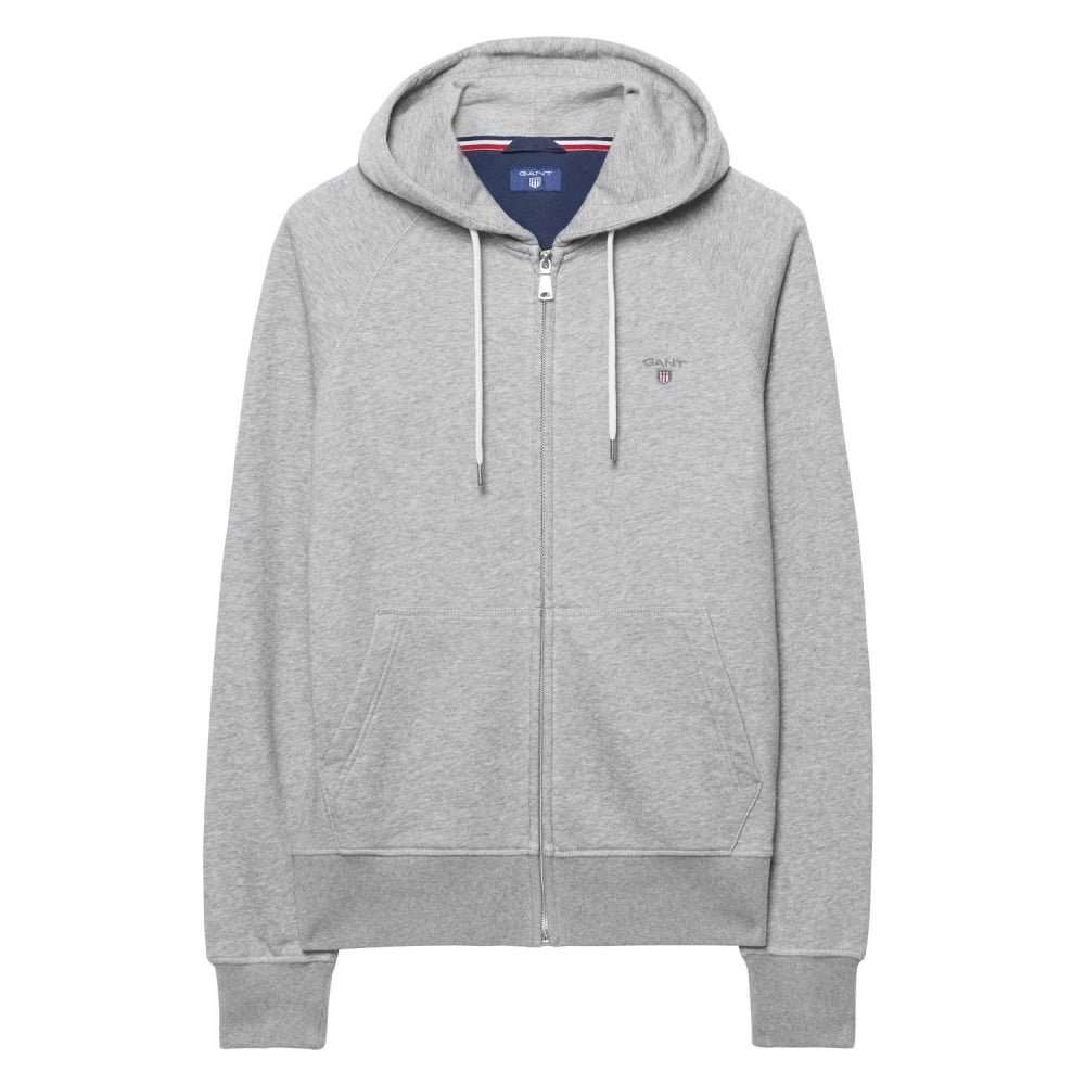 355b229920a GANT Original Full Zip Mens Hoodie - Mens from CHO Fashion and ...