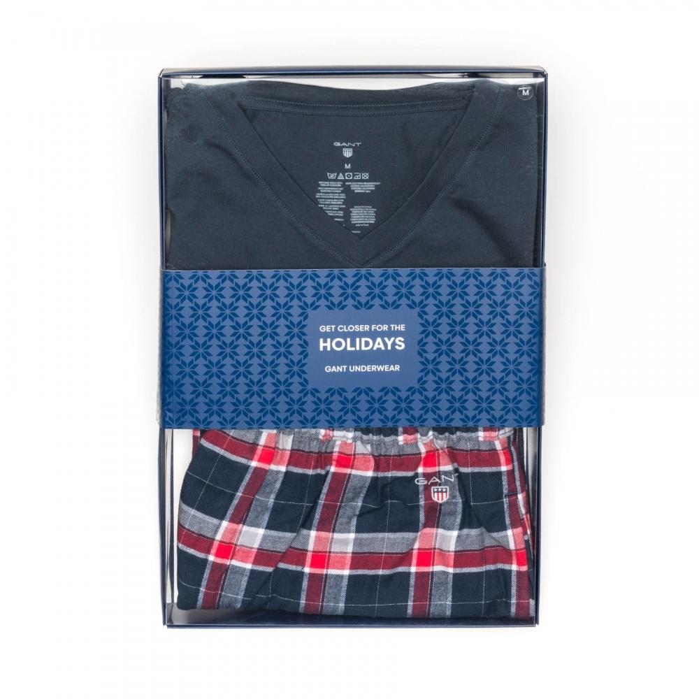 1ab4785690 GANT Tee Mens Pajama Set Gift Box PreSS18 - Mens from CHO Fashion ...