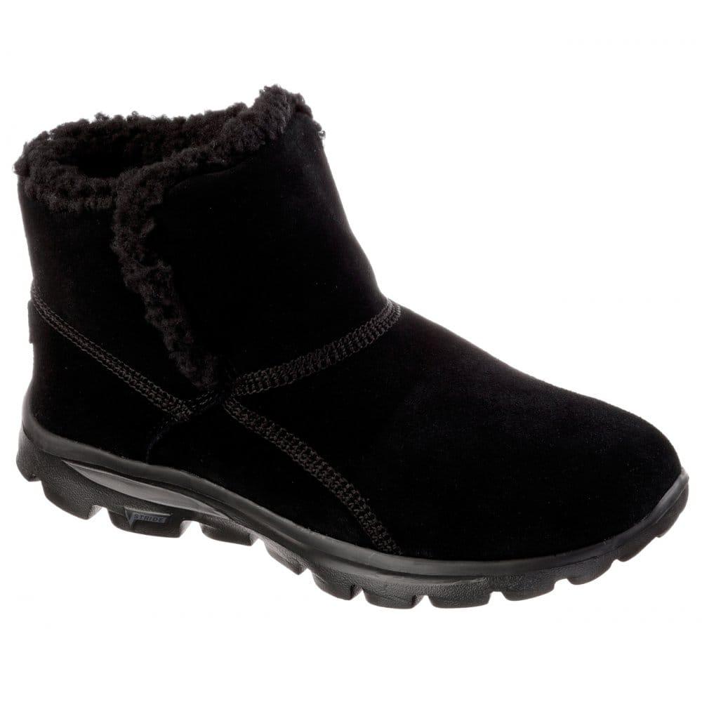 Skechers Go Walk Move Chugga Imprint Ladies Boot - Womens Shoes Boots U0026 Trainers From CHO ...