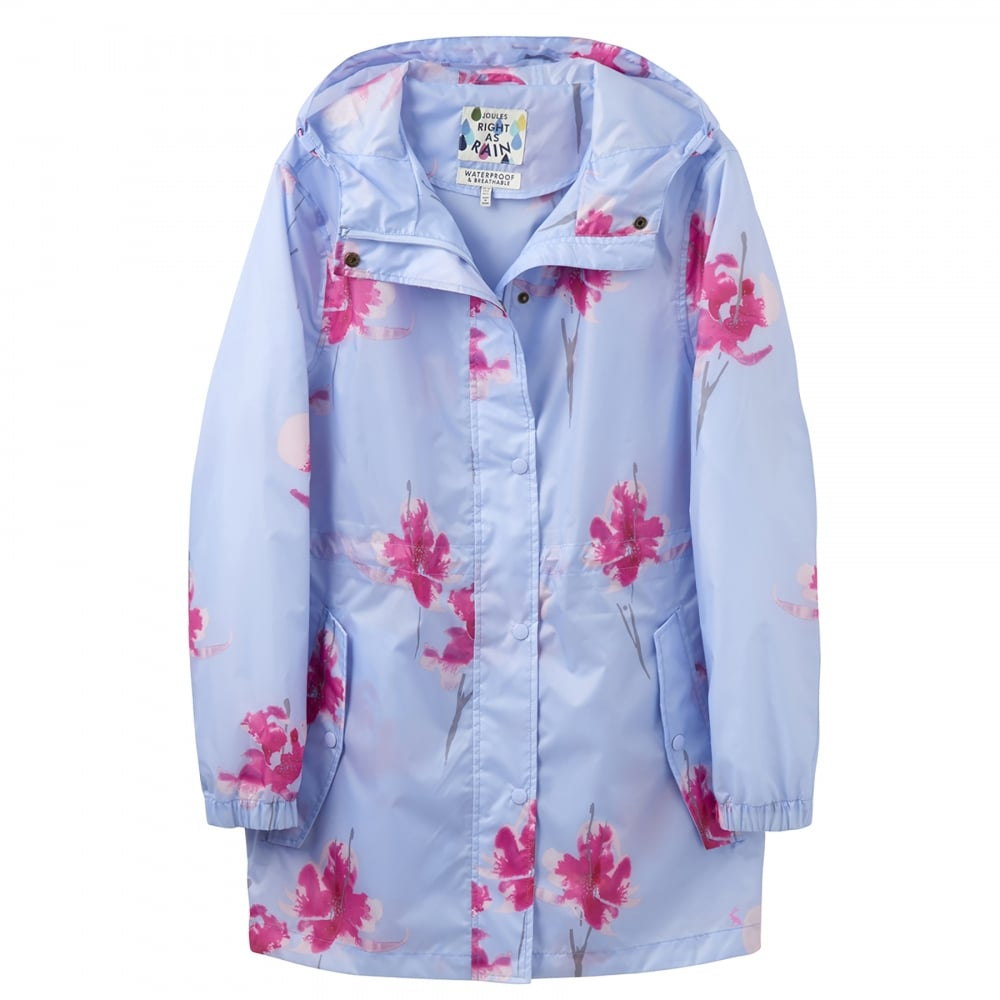 ec70d7925ffa Joules Golightly Printed Waterproof Packaway Ladies Parka (W) - Womens from  CHO Fashion and Lifestyle UK