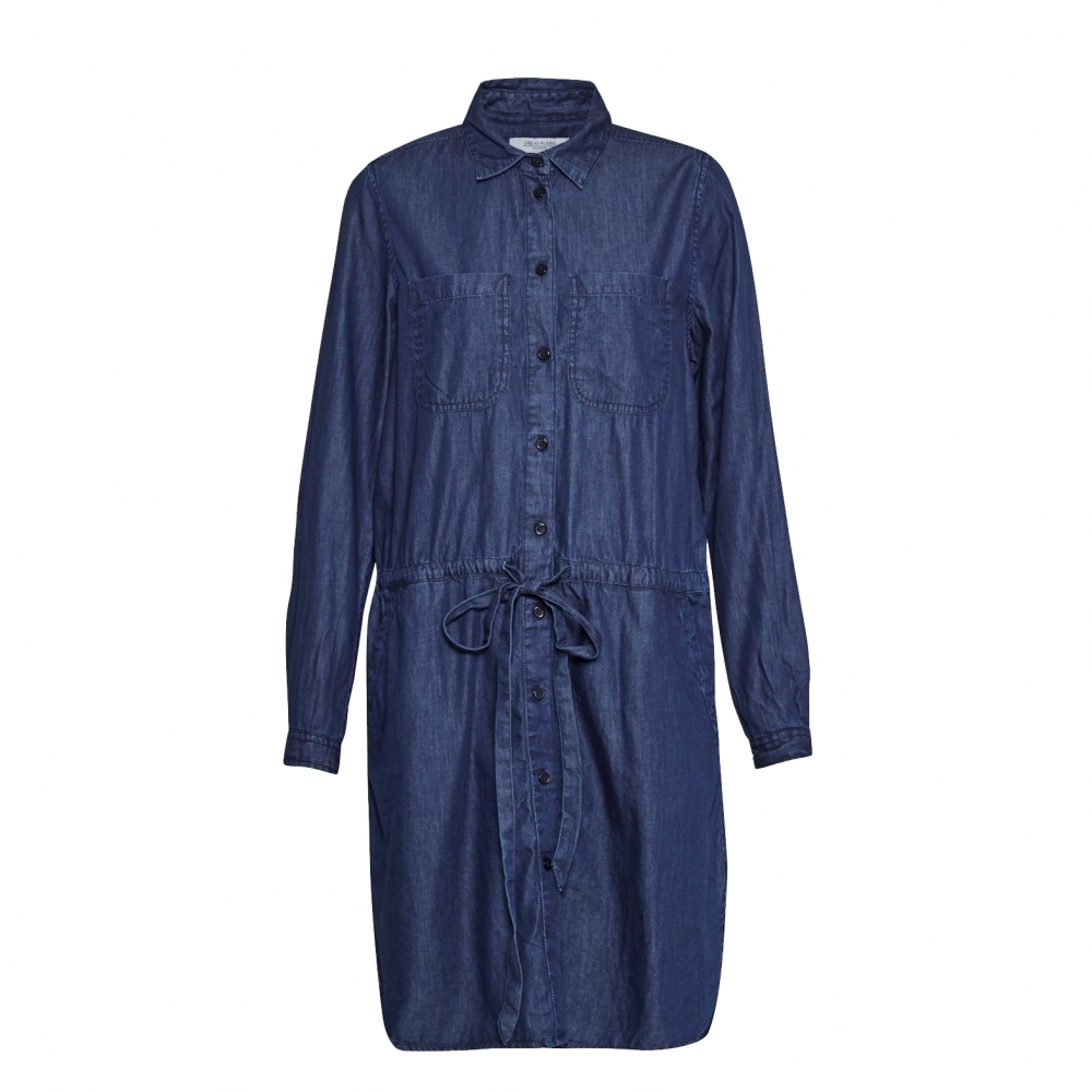 Great plains light weight denim womens shirt dress for Ladies light denim shirt