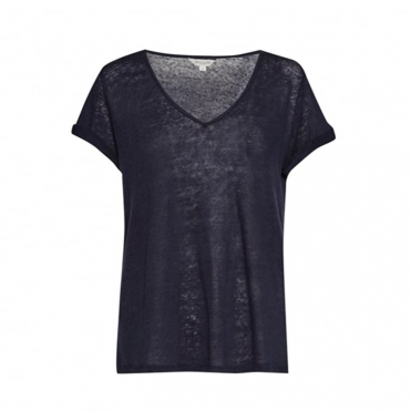 Great Plains Lindy Linen V Neck Womens Tee