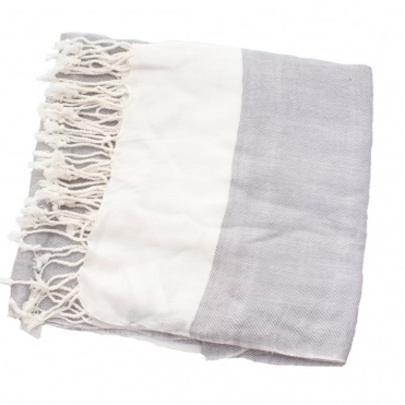 Great Plains Womens Cream Scarf