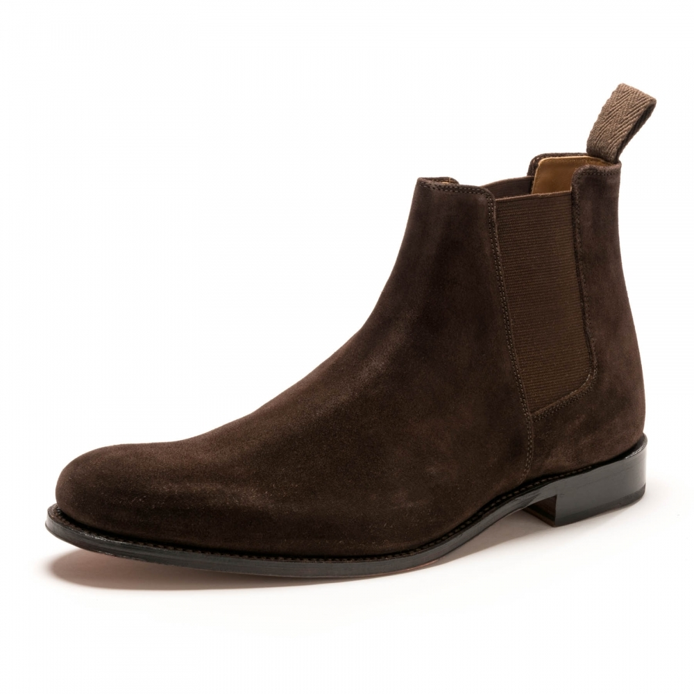 db9720bdb09 Declan Chocolate Suede Mens Chelsea Boot
