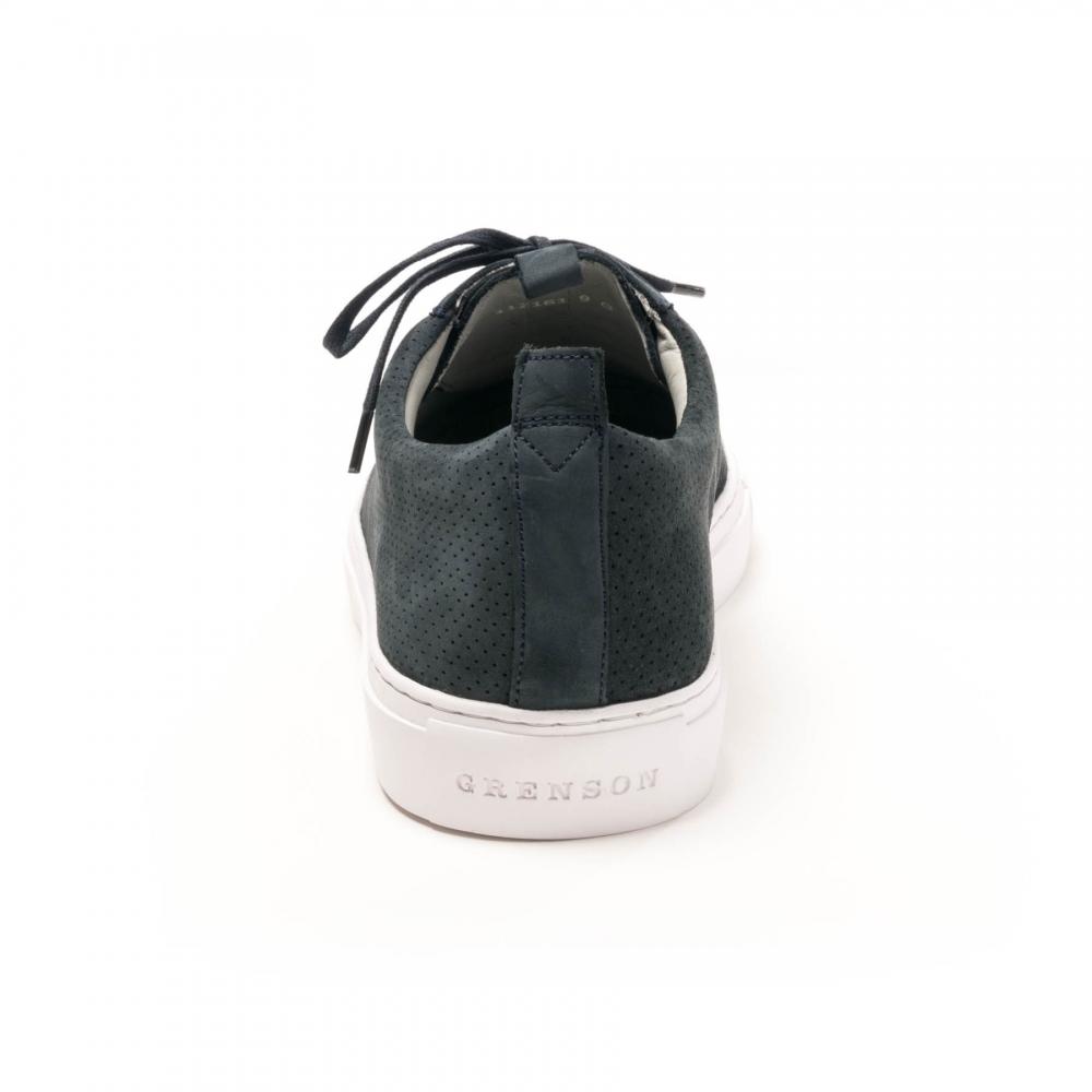 3c1c50f41e83e2 Grenson Sneaker 1 Deep Blue Nubuck Oxford Gswh G - Mens from CHO ...