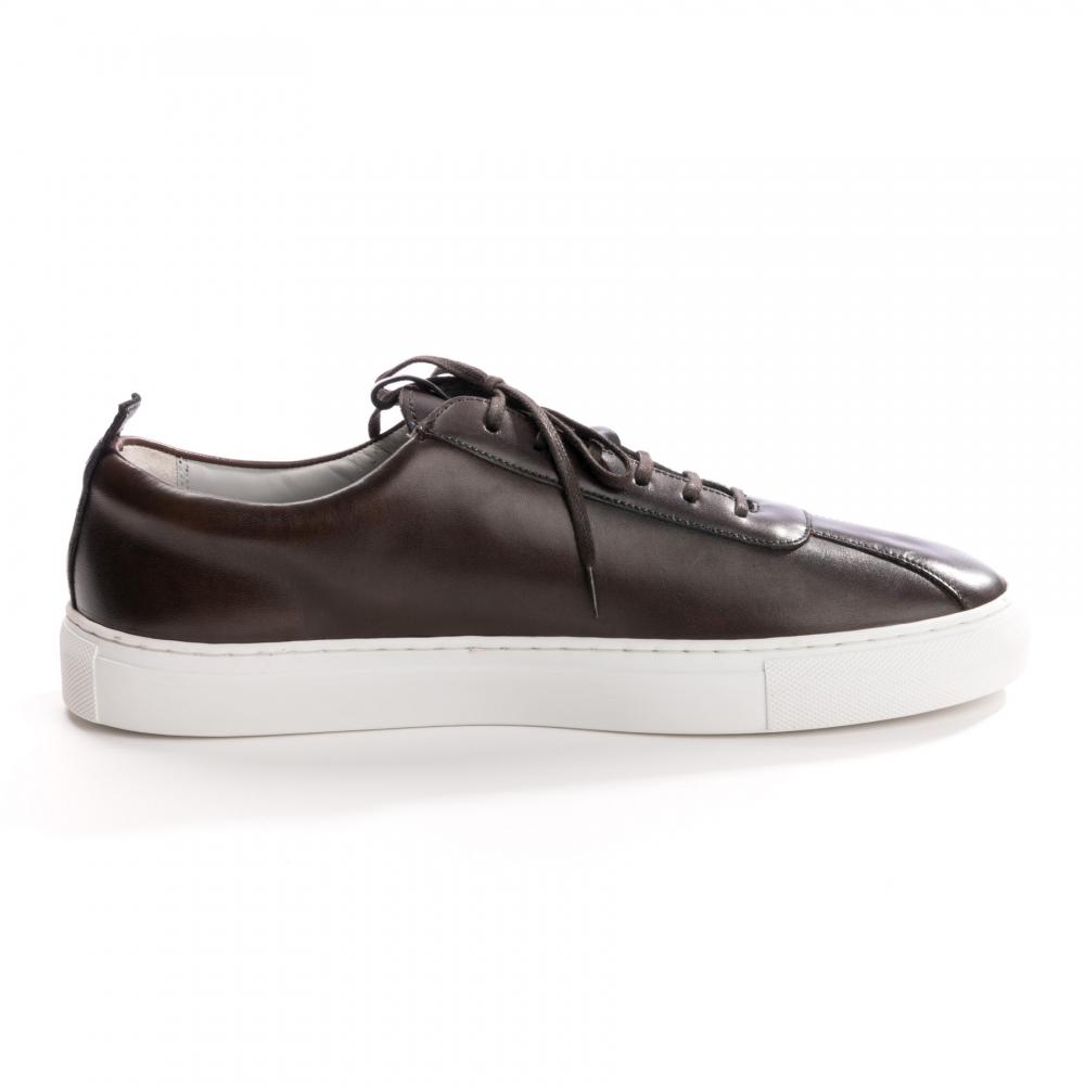 889176c962afba Grenson Sneaker 1 Handpainted Brown Mens Trainer - Footwear from CHO ...