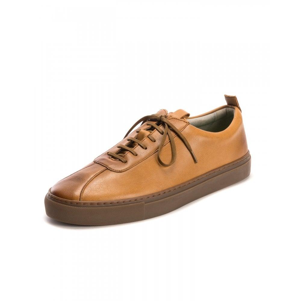 Grenson Sneaker 1 Vegan Tan Mens Shoes