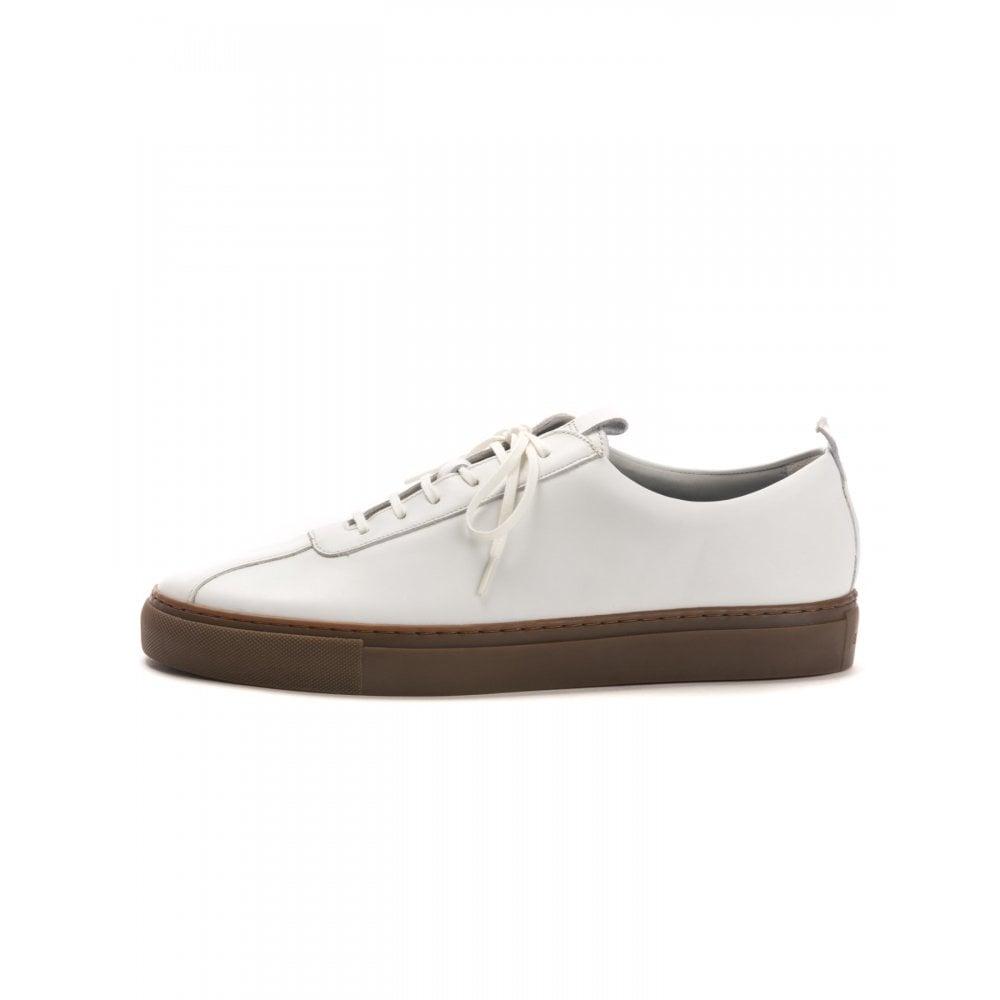 Grenson Sneaker 1 White Gum Mens Shoes