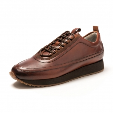 ac29948b1cd Grenson Sneaker 12 Tan Hp Runner Rsbb F