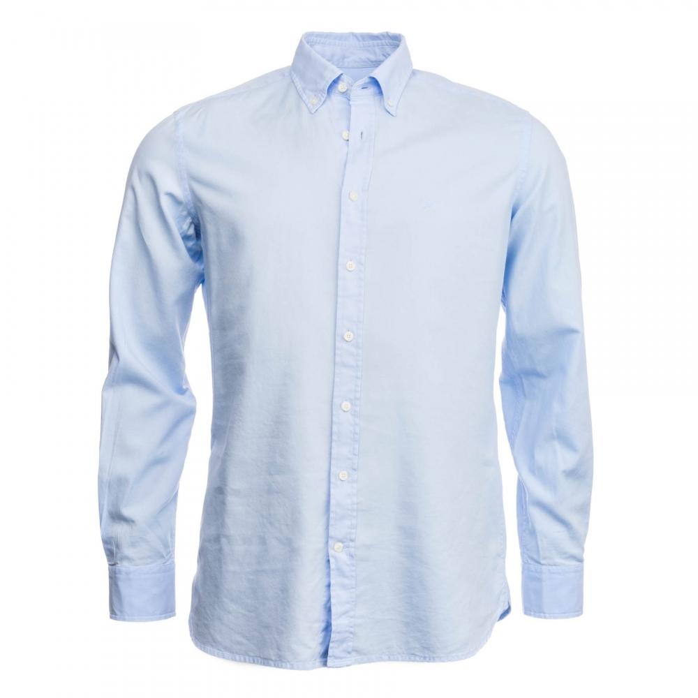 Hackett Aston Martin Racing GMT Dye Delave Oxford Shirt Mens From - Aston martin shirt