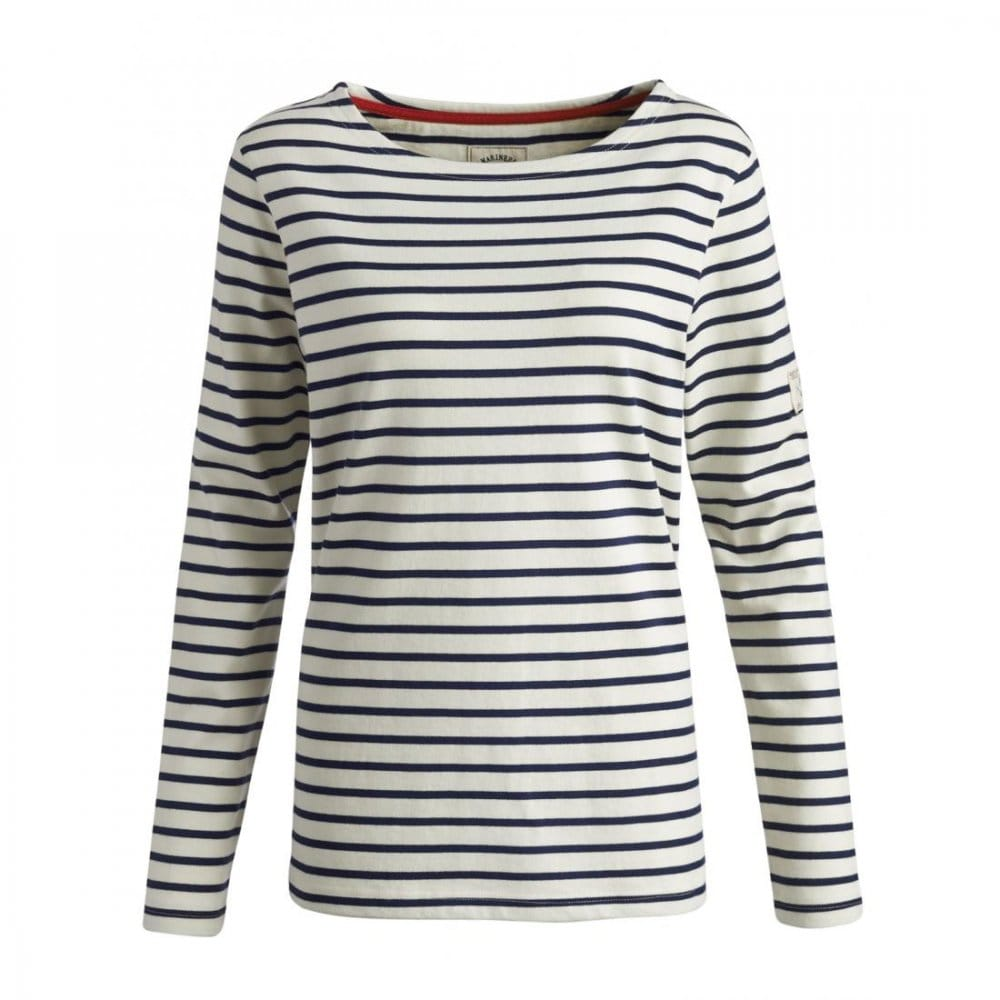 Joules Harbour Ladies Striped Jersey Top (R) - Tops, T ...