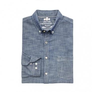 Harswell One Pocket Chambry Long Sleeve Shirt (U)