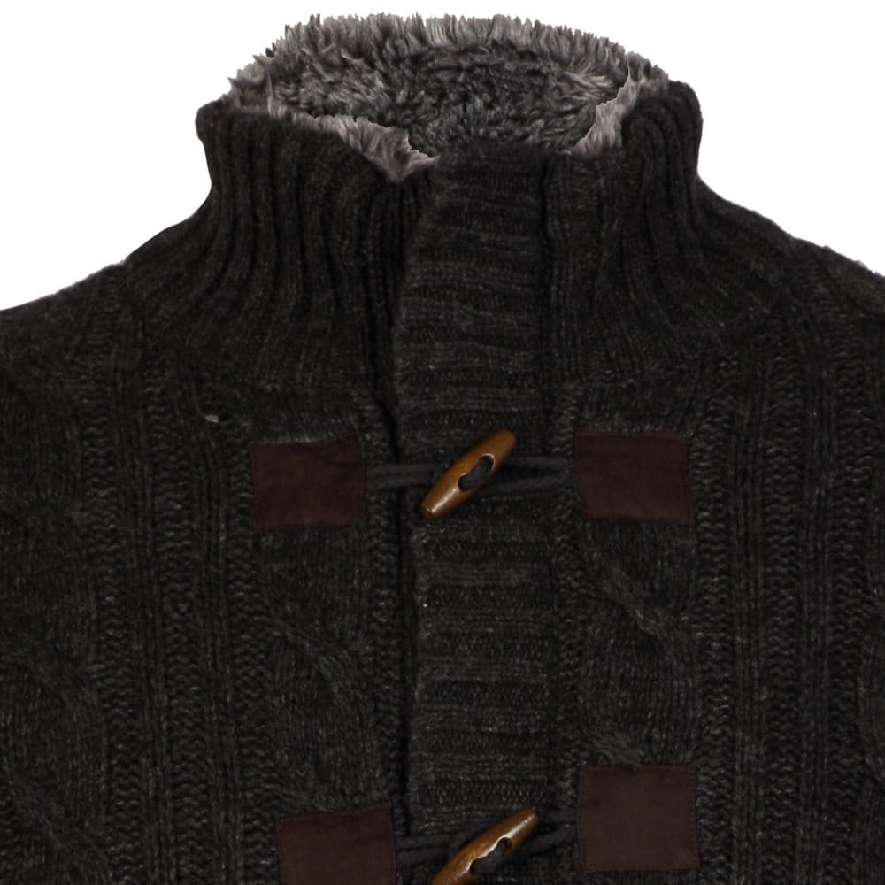 Fynch Hatton Hatton Zip Button Rib Mens Cardigan - Mens from CHO ... 5bf831564ccd