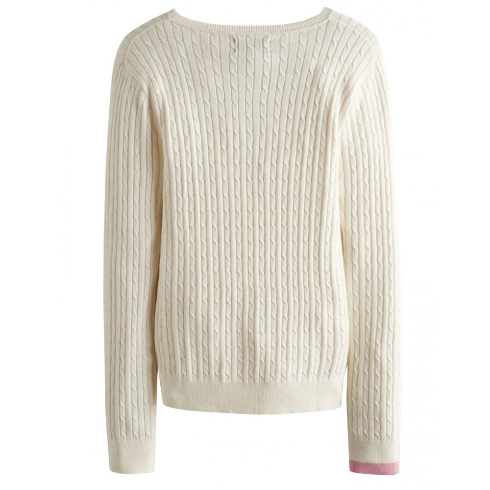 Joules Hayle Ladies Cable Knit Jumper (S)