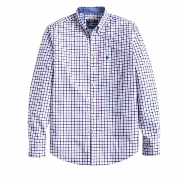Hensley Poplin Slim Fit Mens Shirt (W)