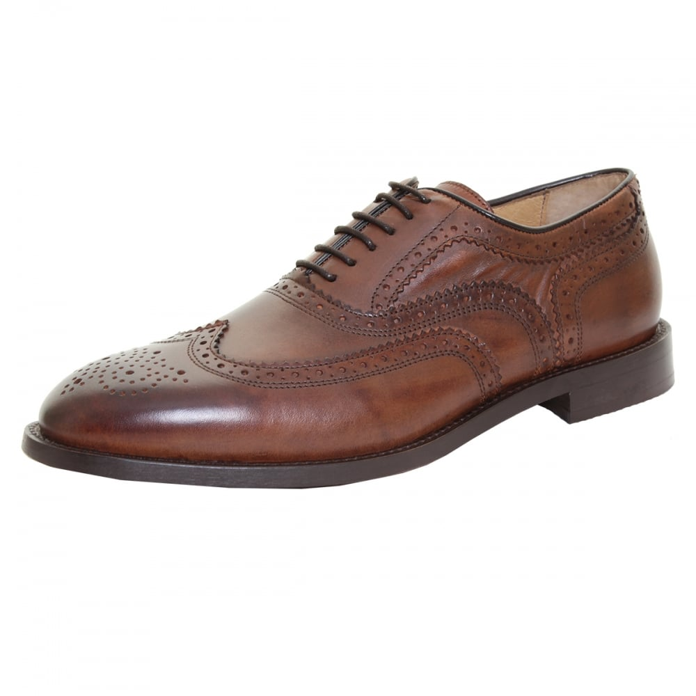 HUDSON LONDON Heyford Mens Brogue Shoe