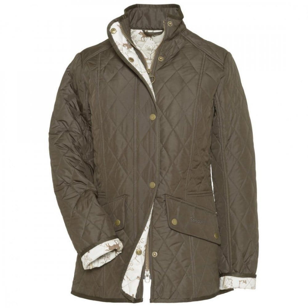 Barbour Horse Print Cavalry Ladies Jacket - Womens from ...
