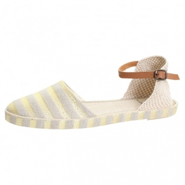 HUDSON LONDON Biarritz Canvas Womens Sandal