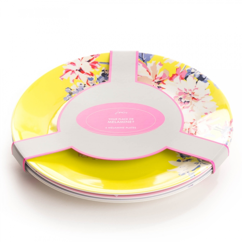sc 1 st  Country House Outdoor & Joules Blaze Set Of 4 Melamine Plates (Y)