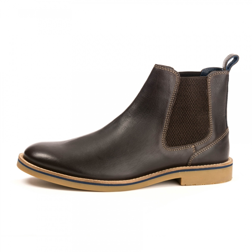 Bourne Leather Mens Chelsea Boot