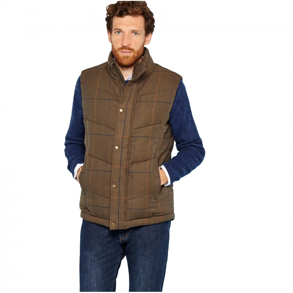 ff4ef0bc830 Joules Braden Quilted Mens Gilet (X) - Mens from CHO Fashion and ...