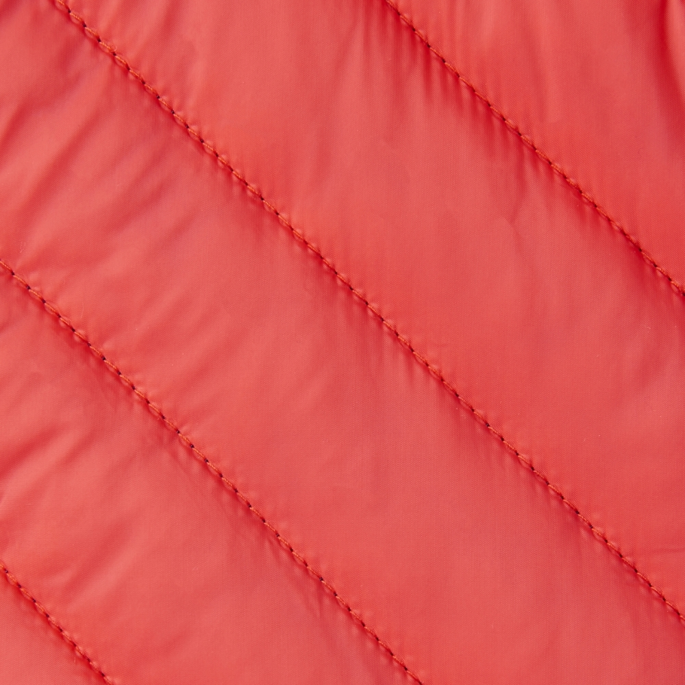 Joules Brindley Chevron Quilted Womens Jacket Gilet Redcurrant All Sizes
