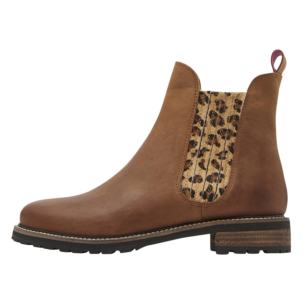 16cc2e68b09 Joules Joules Clarendon Panelled Elastic Chunky Womens Chelsea Boot (Z)