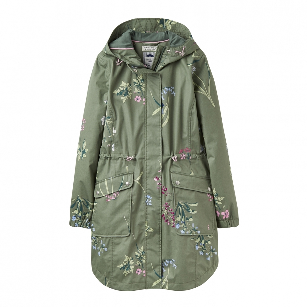 21057499f Joules Coastline Print Waterproof Womens Jacket (Y) - Womens from ...